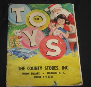 christmas toy catalogs