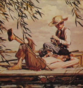 huckleberry finn and tom sawyer