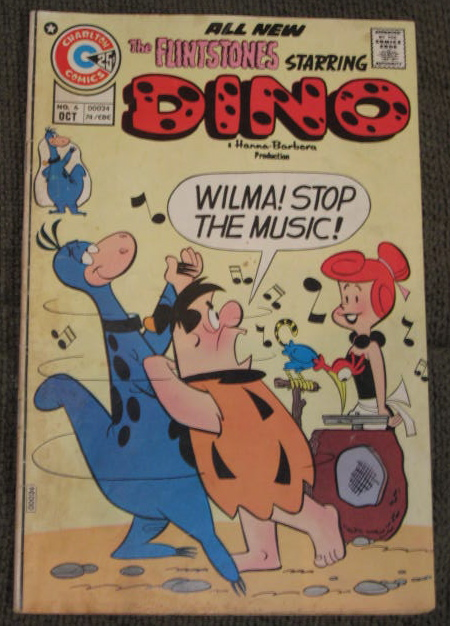 1974 Dino Comic Book
