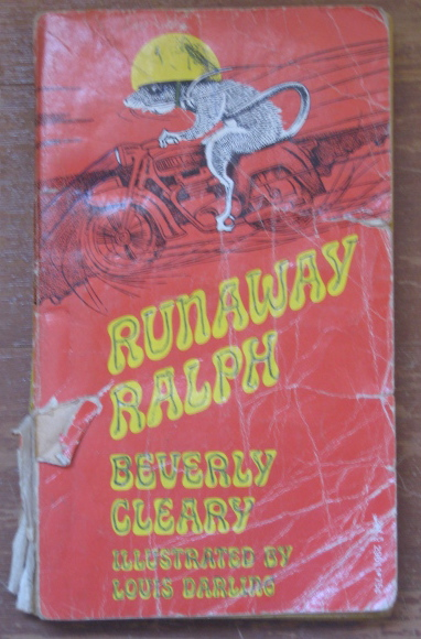 beverly cleary runaway ralph book report The mouse and the motorcycle is a children's novel written by beverly cleary and published in 1965 plot summary ralph is a mouse who lives in  the mouse and the motorcycle (1967) runaway ralph (1970) ralph s mouse (1982) printings.