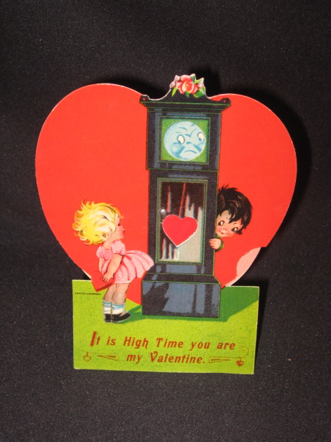 German Valentines Day Mechanical Cards – German Valentines Day Cards
