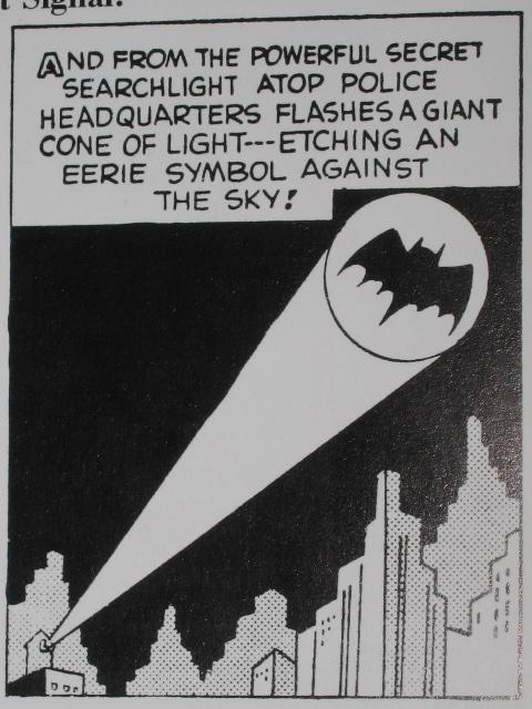 The Bat Distress Signal For Batman And Robin