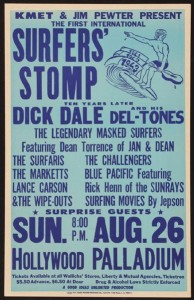 Dick Dale Surfers' Stomp Poster