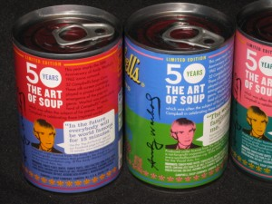 Andy Warhol-inspired Campbell Soup