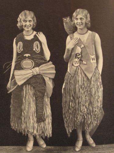 1930 Paper Mache Halloween Costumes