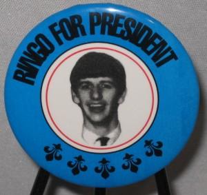Ringo for President Pin