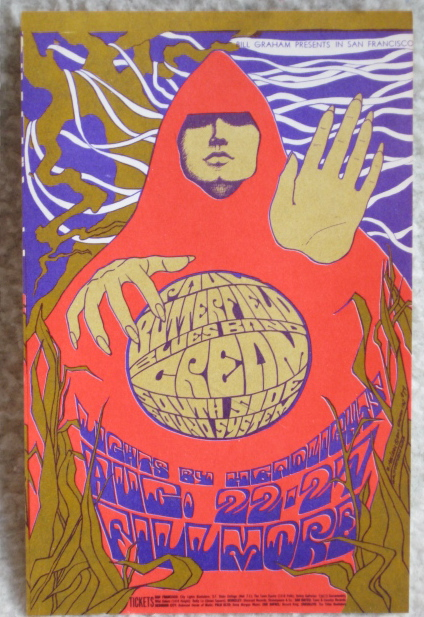 Cream Fillmore Postcard