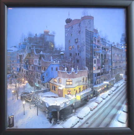Hundertwasser Haus Framed Photo