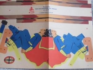 Detail from Capt. Marvel Ski Jump Kit