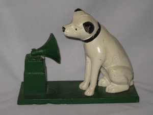 Nipper the RCA Victor Dog Cast Iron