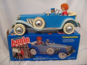 Annie Limousine Model Kit from 1982