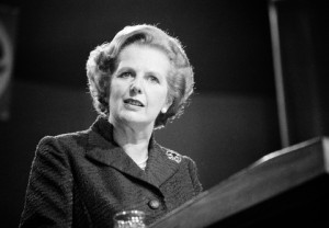 Margaret Thatcher (Credit: pbs.org)