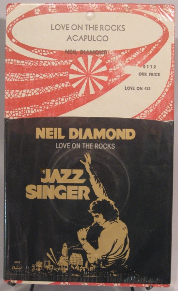 "Neli Diamond's ""Love on the Rock"" 45 single"
