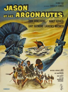 Jason and the Argonauts 1963 film poster (Credit: www.classicfilmtvcafe.com)