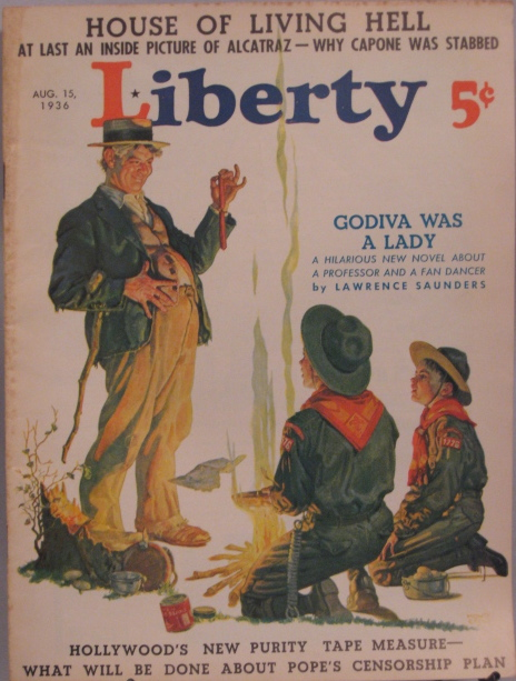 Liberty Magazine August 6,1938 How Honest Is The Oxford Group? VINTAGE ADS