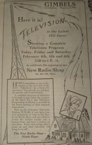 1932 TV Ad