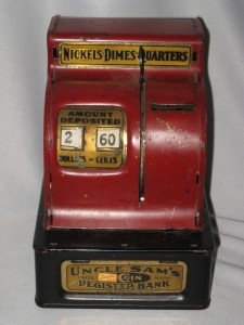 Uncle Sam's Coin Register Bank