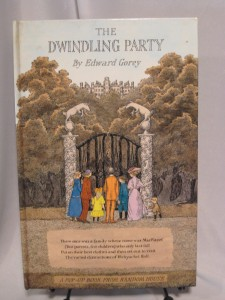 Edward Gorey's The Dwindling Party