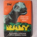Baby movie gum wrapper