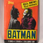 Batman gum wrapper trading cards