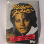 Michael Jackson gum wrapper