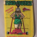Rad Dudes gum wrapper