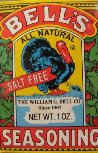 Bell's Seasoning a Turkey Tradition